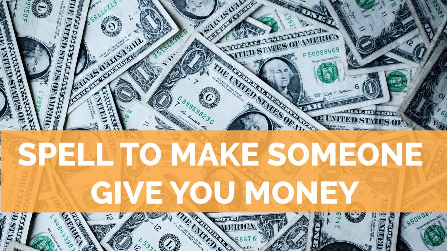 make someone give you money