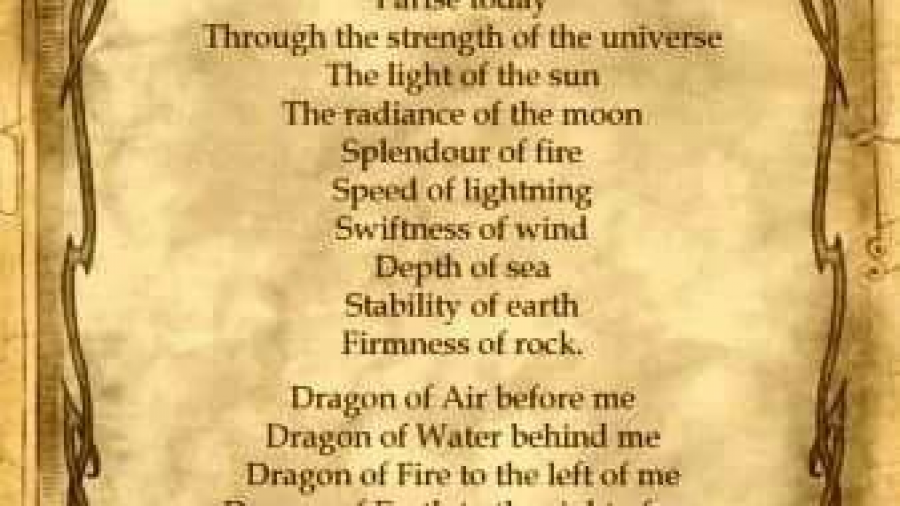Draconic Fire Spell