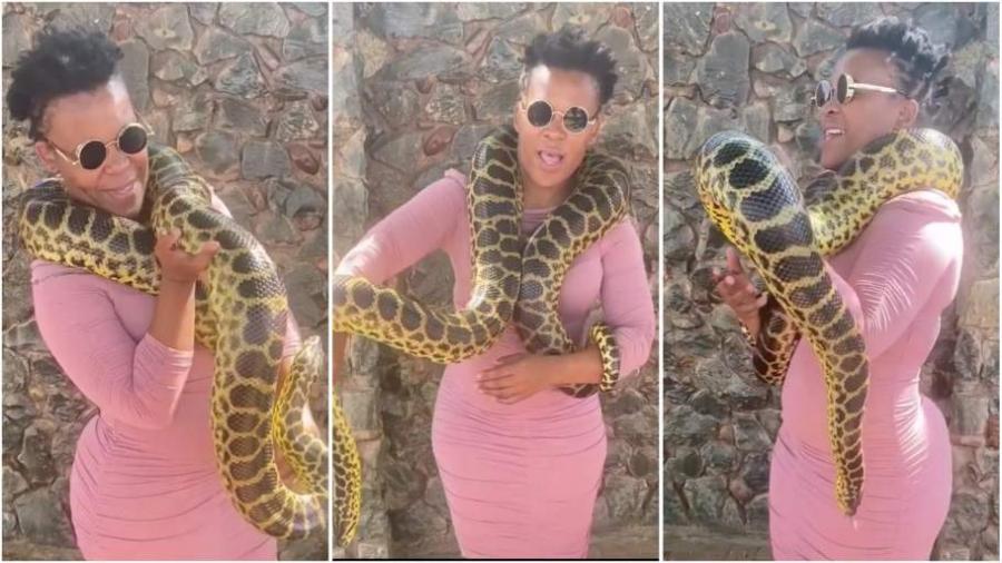 Mamlambo river snake