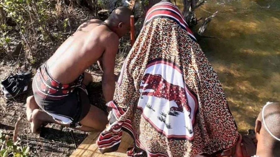 Sangomas and water snakes
