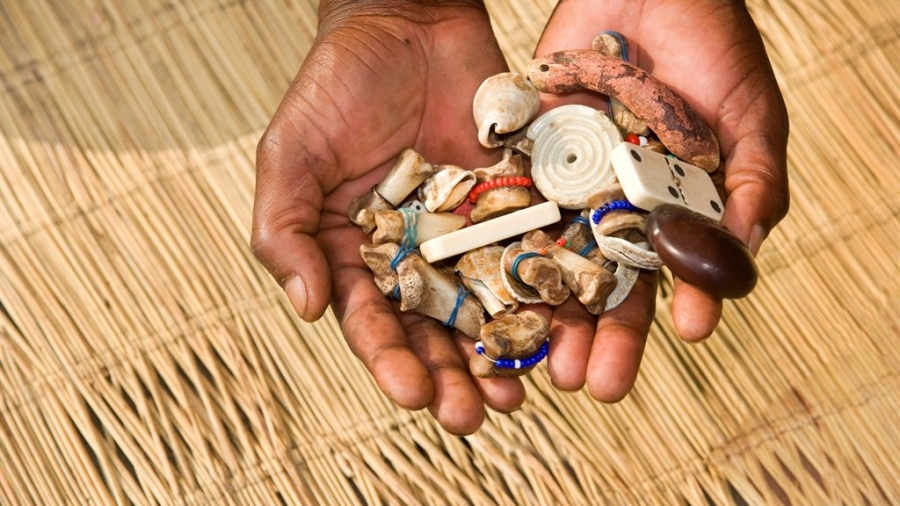 What is the difference between a sangoma and a traditional healer?