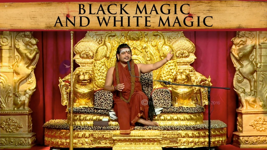 What's the difference between white magic and black magic?