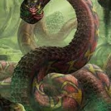 water snake sangoma training underwater