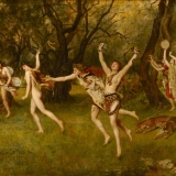 Devotional acts to Dionysus